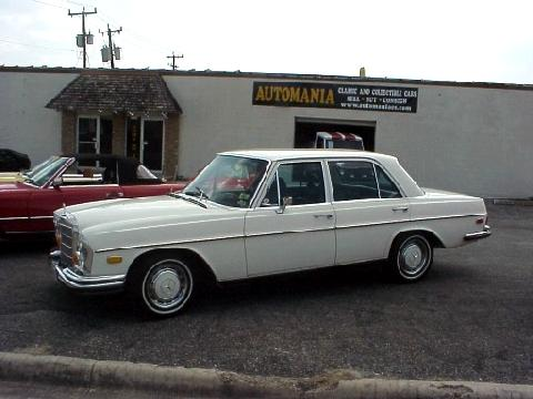 Mercedes Benz 280se Sedan Svl (1970)