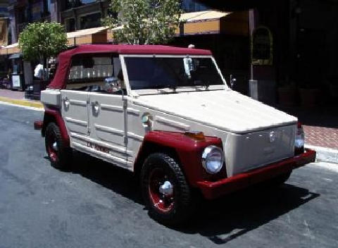 Volkswagen The Thing Whitered  Fvr (1974)