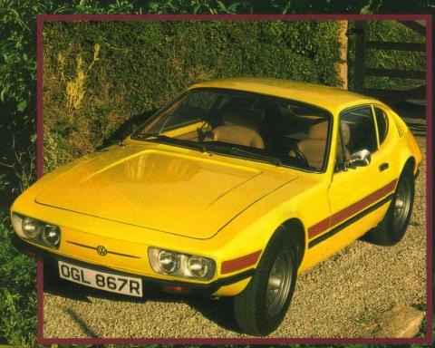 Volkswagen Sp2 Colour Front (1979)