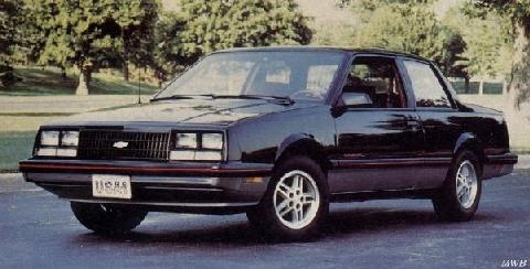 Chevrolet Celebrity Coupe 2 (1984)