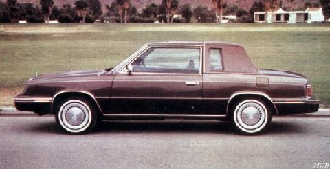 Chrysler Lebaron Coupe 1984 Picture Gallery Motorbase