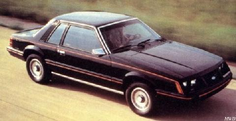 Ford Mustang L Coupe (1984)