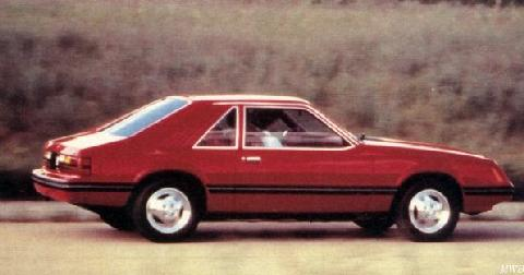 Ford Mustang L Hatchback (1984)