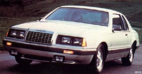 Ford Thunderbird Turbo Coupe (1984)
