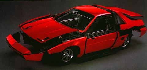 Pontiac Fiero Fiber Panel Break Away (1984)