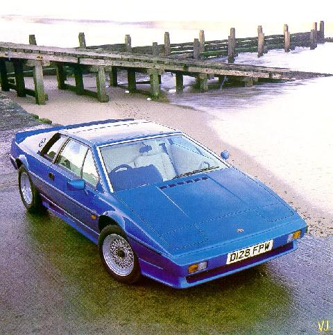 Lotus Esprit Turbo Hcpi   Frontr (1987)