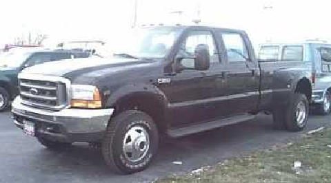 f350crewcabdually4x4 Black (1999)