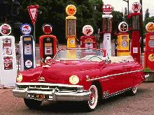 Lincoln Cosmopolitan Convertible Red (1951)