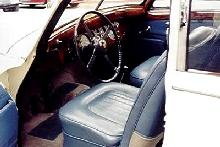 Jaguar MkVIIM Sedan Interior (1955)