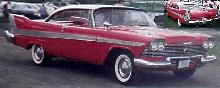 Plymouth Belvedere Sports Coupe  Fvr (1958)