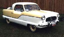 Metropolitan Coupe Yellowwhite (1960)