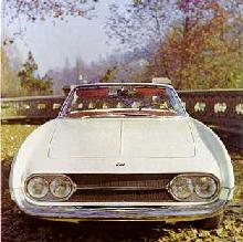 Ghia 450 Ss Grille (1966)
