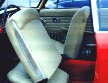 Volkswagen Karmann Ghia Type 3 Interior (1966)