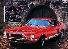 Ford Shelby Mustang GT 500kr Red (1968)