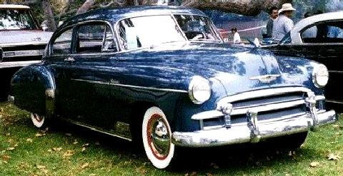 Chevrolet Fleetline  Fvr (1950)