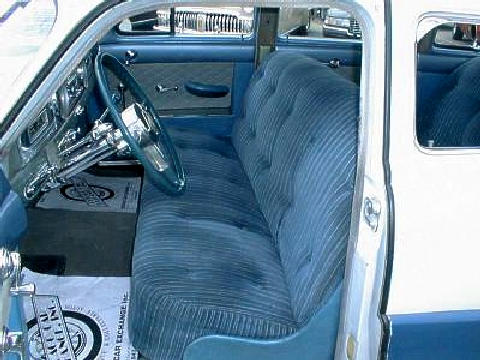 Hudson Commodore 6 Interior (1950)