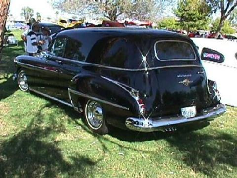 Oldsmobile Sedan Delivery Black  Rvl (1950)