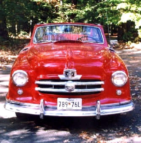 Nash Rambler Convertible Red Fv (1951)