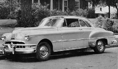 Pontiac Chieftain Deluxe Catalina Bw (1951)