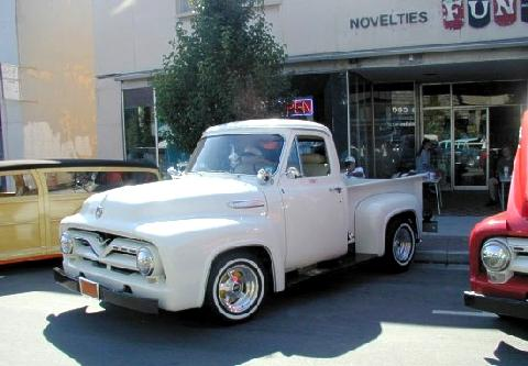 Ford F100 Pickup White  Fvl (1952)
