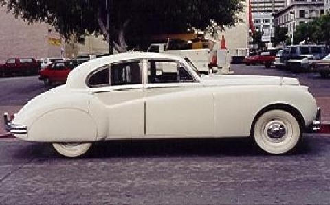 Jaguar MkVIIM Sedan White Svr (1955)