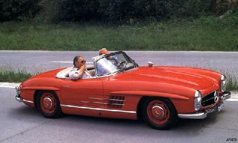 Mercedes Benz 300 Sl Roadster (1957)