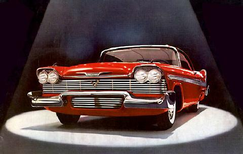 Plymouth Belvedere Sport Coupe Fvl Rd  (1958)