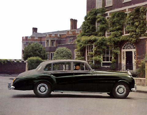 Rolls Royce Silver Cloud Dual Purpose LWB Park Ward Rd  (1958)