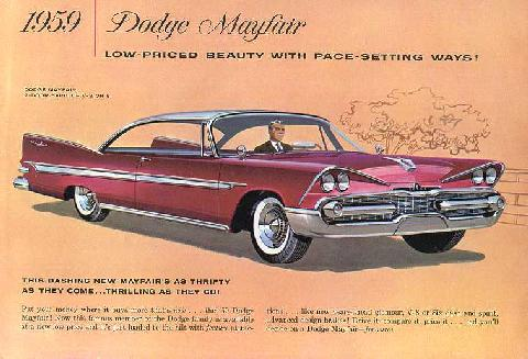Dodge Brochure Cdn   P10 Mayfair Htp (1959)