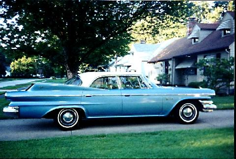 Dodge Matador Sedan Bluewhite Svr (1960)