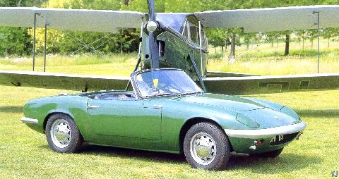 Lotus Elan S1 First Production Elan Sold (1963)