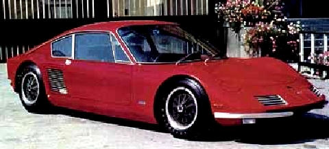 Elva Bmw Coupe Red  Fvr (1964)