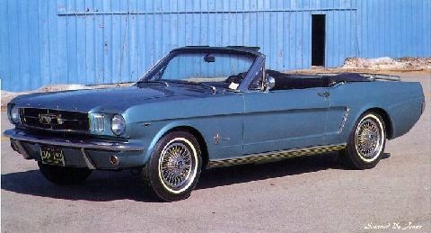 Ford Mustang Convertible 2 (1965)