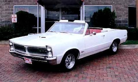 Pontiac Lemans Convertible White Fvl 1965 Picture