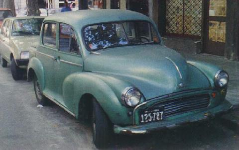 Morris Minor Pickup Home Made Uruguay (1966)