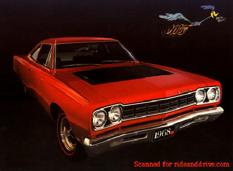 Plymouth Road Runner Rd  (1968)