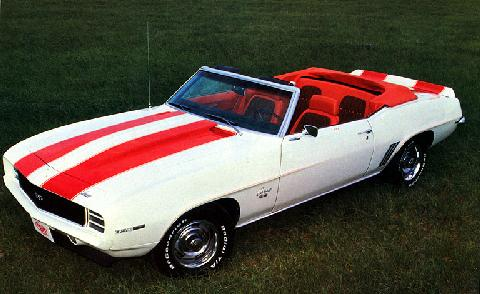 Chevy Camaro Rs Ss 350 Convertible (1969)