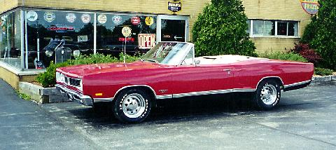 Dodge Coronet 500 Convertible Red  Fvl (1969)