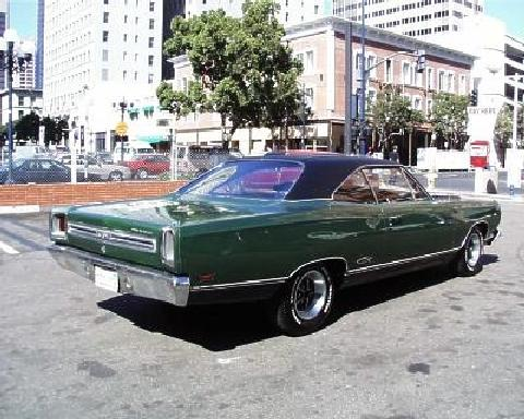 Plymouth Satellite Gtx Hardtop Green  Rvr (1969)