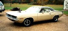 Plymouth Barracuda Hardtop Whiteblack FVl   (1970)