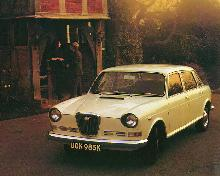 Wolseley Six White   LF 2 (1972)