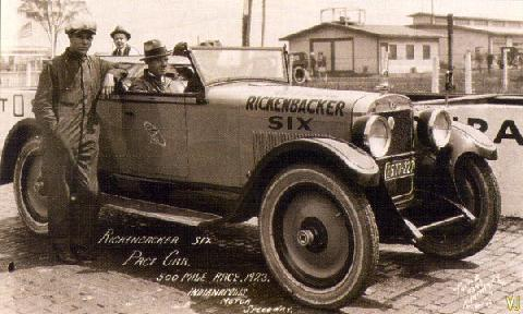 Rickenbacker Six Roadster Pace Car USA (1923)