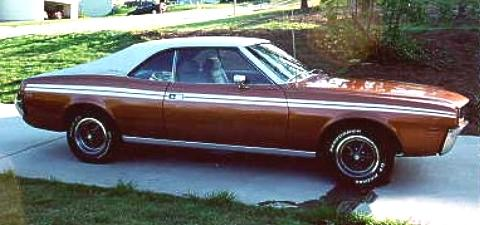 AMC Javelin SST Copperwhite SVr   (1969)
