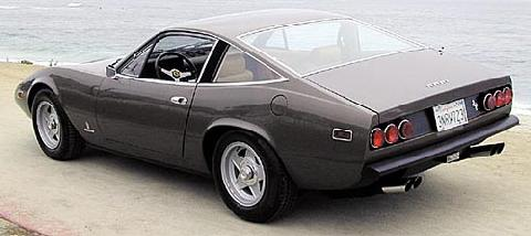 Ferrari 365 GTC 4 Coupe Grey RVl   (1971)