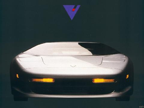 Vector Avtech WX3, Silver, Front 1024x768 (1993)