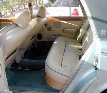 Rolls Royce Silver Wraith II Green Interior Rear   (1977)