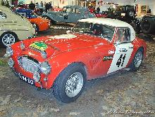 Austin Healey 3000 MK II 1961 Rally Conversion Front three quarter view