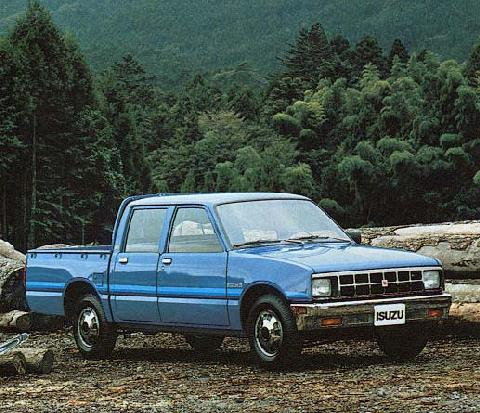 Isuzu KB Crewcab Pick Up  LF  (1985)