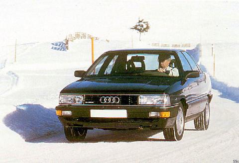 198x Audi 200 Quattro Turbo  SSc