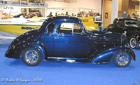 Chevrolet Standard Coupe 1936 Customized Side